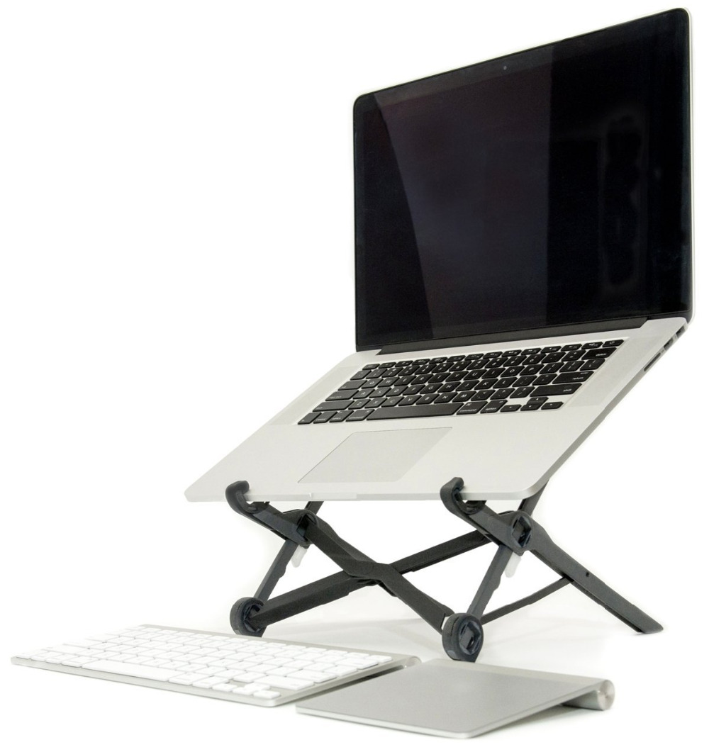 Free shipping Pro Laptop Stand Lift Folding For Macbook Cooling Holder For AIR COMPUTER BAY