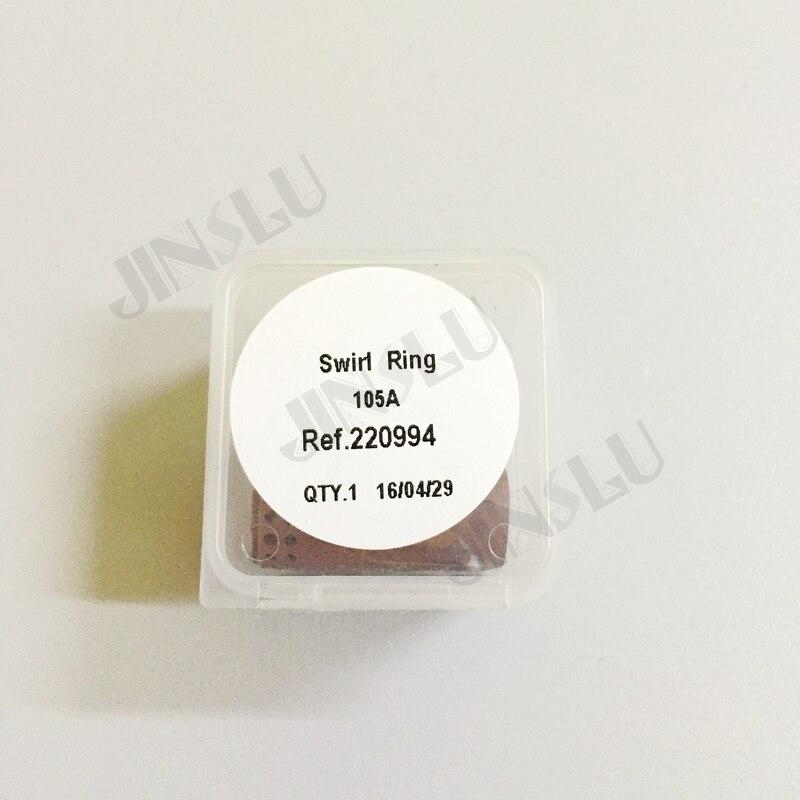 все цены на Free Shipping Plasma Cutting Torch Consumables Non-Genuine Plasma Swirl Ring 220994 5PCS For 105A онлайн