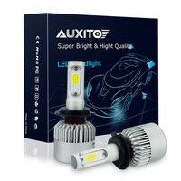 AUXITO Error Free H7 COB LED Car Headlights Bulb 72W 8000LM LED Headlight Automobiles Headlamp For