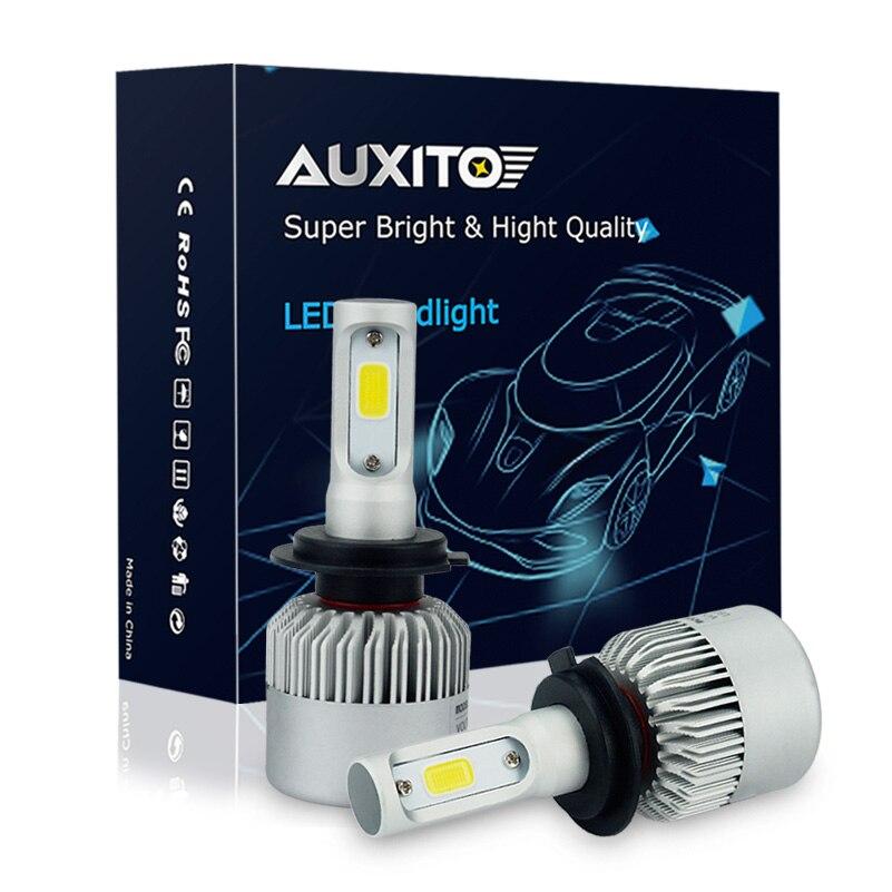H7 100W COB LED Headlight Bulbs Pair Canbus For BMW 6 Series E63 2004-Onwards