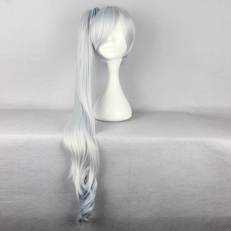 RWBY Cosplay Headwear Weiss Schnee Cosplay Hair White Women RWBY Cosplay Hair Party Cosplay Costumes Accessories