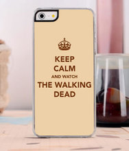 The Walking Dead Luxury Phone Case For iPhone Series