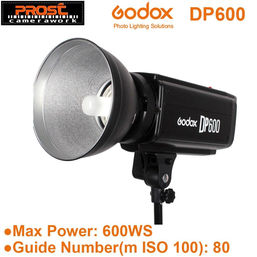 Godox DP600 600WS Pro Photography Strobe Flash Studio Light Lamp Head 600WS GN80 Wireless Control Port