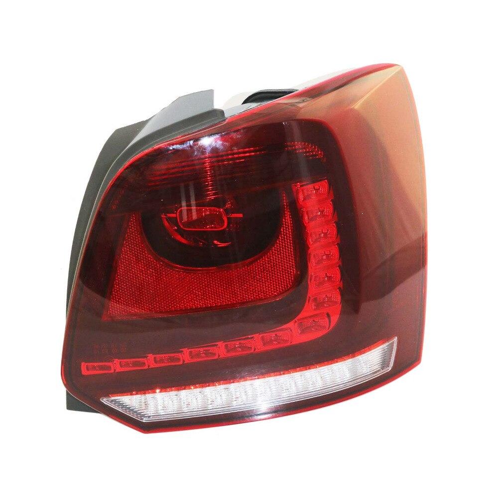 Новый для VW Поло 2010 2011 2012 2013 прямо Сторона LED задний фонарь заднего света 6R0945096