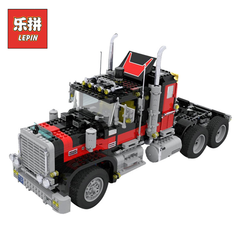 In Stock DHL Lepin 21015 1743Pcs Technic Figures Team Black Cat Truck Model Building Kits Blocks Bricks Educational Toy Gift5571 in stock dhl lepin set 21010 914pcs technic figures speed champions f14 model building kits blocks bricks educational toys 75913