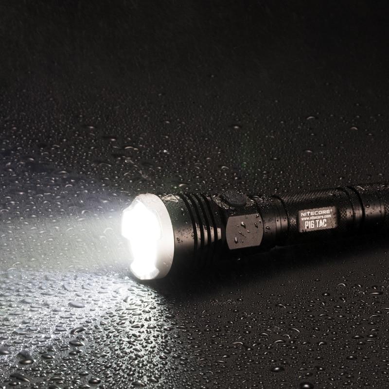 2019 Nitecore P16TAC 1000LMs CREE XM L2 U3 LED lampe de poche tactique chasse étanche Portable lampe torche sans 18650 batterie - 6
