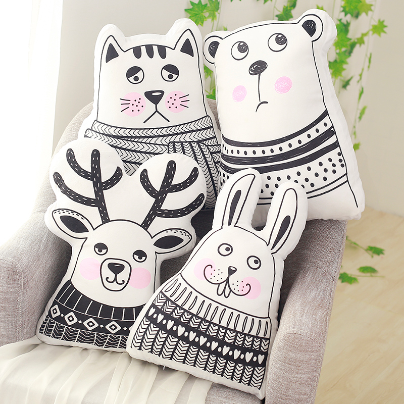 Newborn Pillow Sleep Toys Kids Boy Girl Room Decorations Kawaii Children Coussin Oreiller Pour Enfant Bebek Odasi Dekorasyon