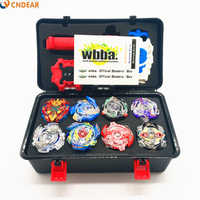 Beyblade burst Toupie  Metal Fusion Black Set Box toy blade Launcher Spinning Top Toys For Childn