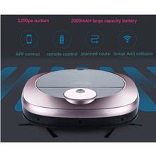 Robotic vacuum cleaner with APP control and auto back charge