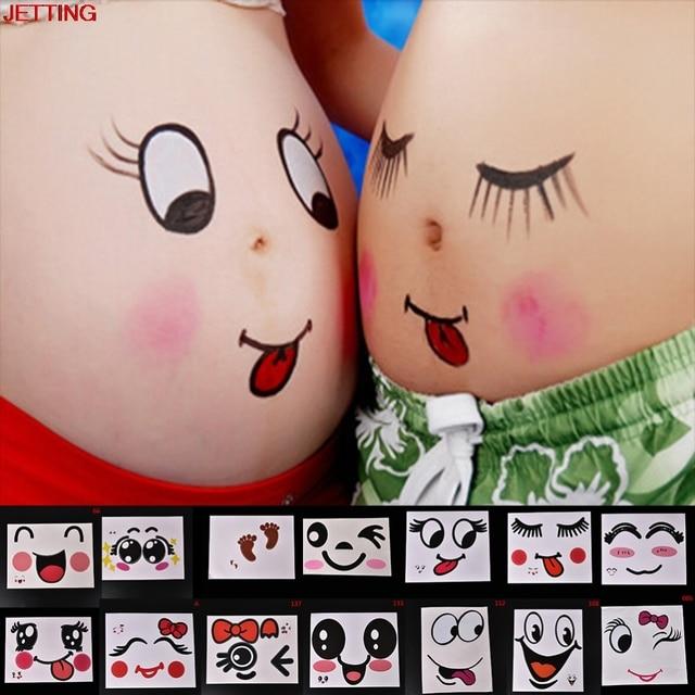 08aefa376a077 1 قطع صورة الدعائم أمومة النساء الحوامل بطن الجسم وشم مؤقت الصور الحمل  البطن الرسم صور