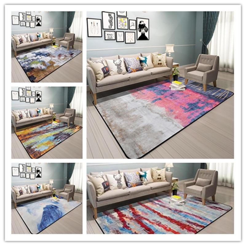 190*280cm large Area Rectangle Carpets For Living Room Bedroom Carpet Door mat Bedside Coffee Table Rug Soft Non-slip Tapete