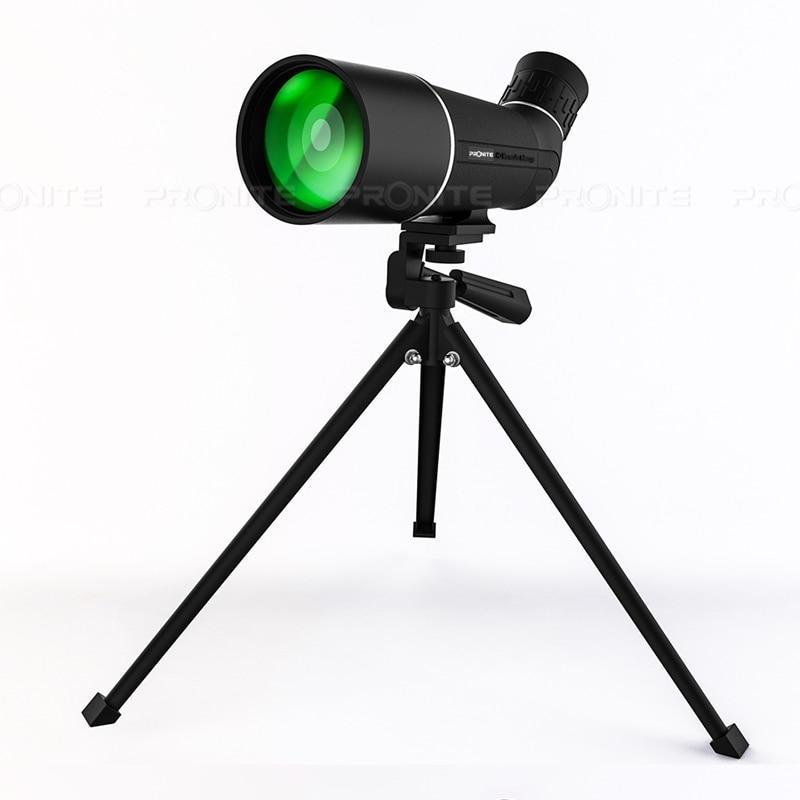 20X60 Hunting Professional Bird Watching Monocular Telescope Optical Glass Portable Life Waterproof Binoculars Spyglass Monocle