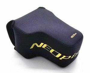 Image 2 - Przenośna kamera torba neoprenowa torba miękkie etui osłona na nikona P1000 kamery cyfrowe