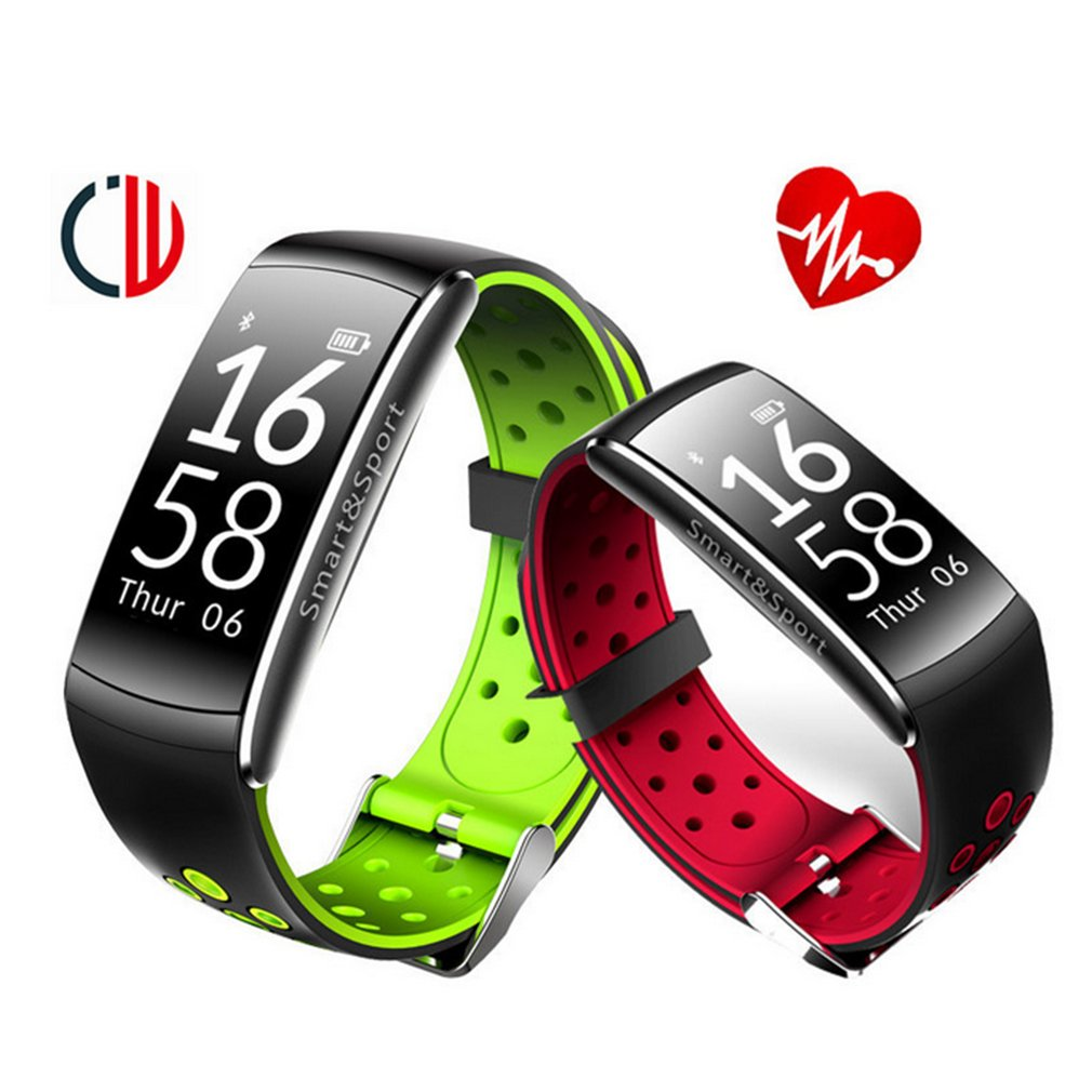 Q8 Smart Wristband Blood Pressure Heart Rate Monitor Waterproof Fitness Tracker Blood Pressure For Android IOS Wearable Devices