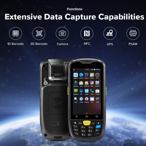 Image 2 - IssyzonePOS Android PosTerminal Water Proof Industrial PDA 1D 2D Barcode Scanner with 4G WiFi GPS BT Warehouse Data Collect PDA