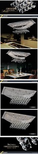 Image 4 - Contemporary High grade light Bedroom lights Crystal Dining   crystal  Upscale atmosphere chandelier light  free delivery