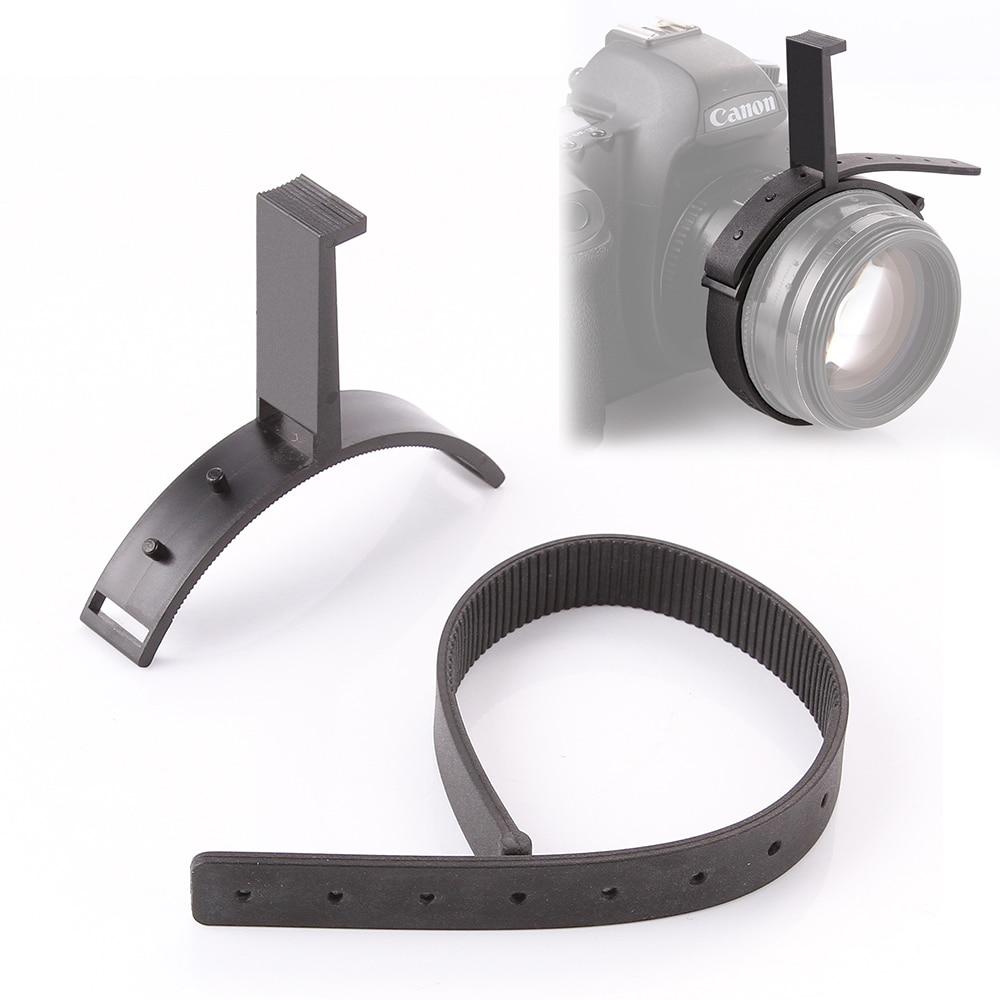 Durable Gear Ring Belt w/Hand Zoom Controller For 70-90mm Follow Focus DSLR Lens