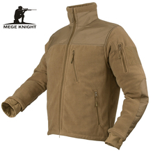 Mege מותג סתיו חורף טקטי צבאי בגדי צבא Combat גברים של מעיל חם Polartec צמר טלאי זכר מעיל פראק