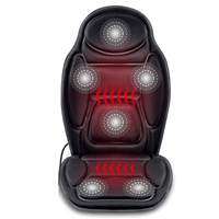 Massage Car Seat Cushion Car Back Massager With Heated Seat Cover for Truck Car Seat Robotic Cushion Message