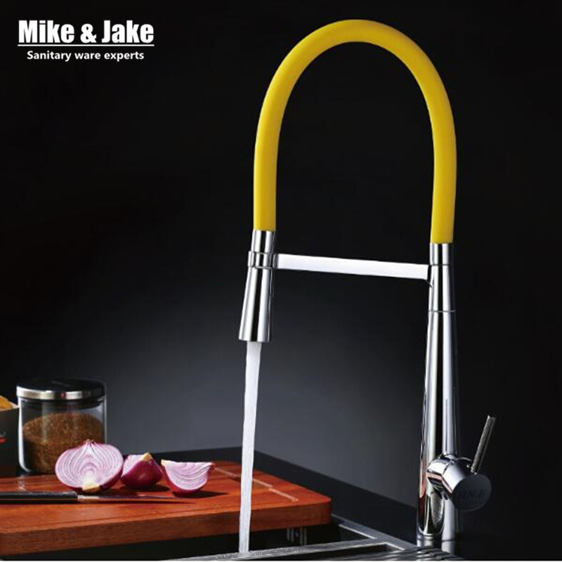 New colorful kitchen water tap pull down kitchen mixer sink faucet pull out taps for sink taps hot and cold kitchen faucets kitchen chrome plated brass faucet single handle pull out pull down sink mixer hot and cold tap modern design