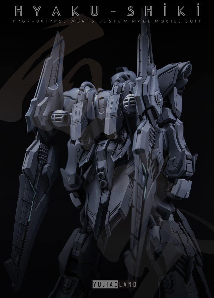 100 HYAKU-SHIKI 2.0 modelo e acessórios