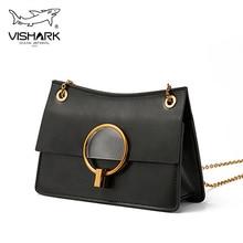 VISHARK Fashion Women Chain Shoulder Bags Mini Crossbody Bag for Girlfriend in 2019 901145S