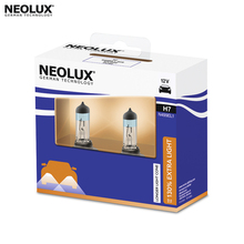 Галогеновая лампа головного света Neolux N499EL1-22SCB H7 цвет стандартный желтоватый 12В 55Вт 4000K (2 шт)