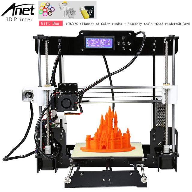 Best Offers Anet A8 Auto level & Normal 3D Printer 0 4mm