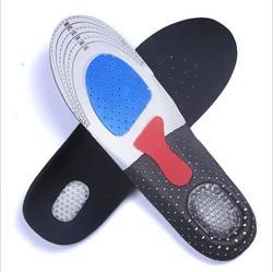 Бесплатная Размеры унисекс ортопедическая стелька-ступинатор спортивные стельки спортивные кроссовки Gel мягкие вставки для Для мужчин