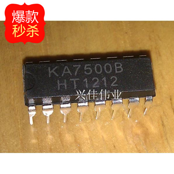 US $0 1  New KA7500 KA7500B line DIP 16 Switching Power Supply  Controller-in Integrated Circuits from Electronic Components & Supplies on