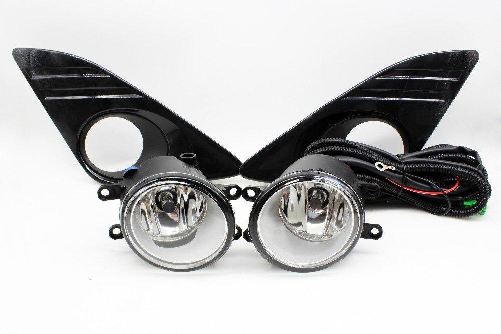 1 комплект туман сборки лампы 1:1 замена для Toyota Camry 2012 2013 2014 включая литья кантом Chrome и противотуманных