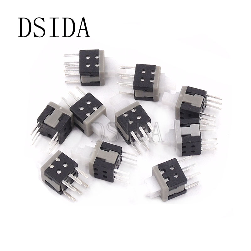30Pcs Tactile Push Button Switch Tact Switch 6X6X13mm 4-pin DIP