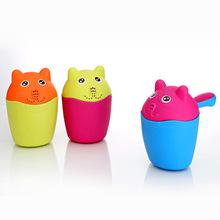 Baby Bath Wash Head Floating Toy Flower Pot Bath Classic Cute Cartoon Toys Baby Shower Boy Three Color Choices Playthings