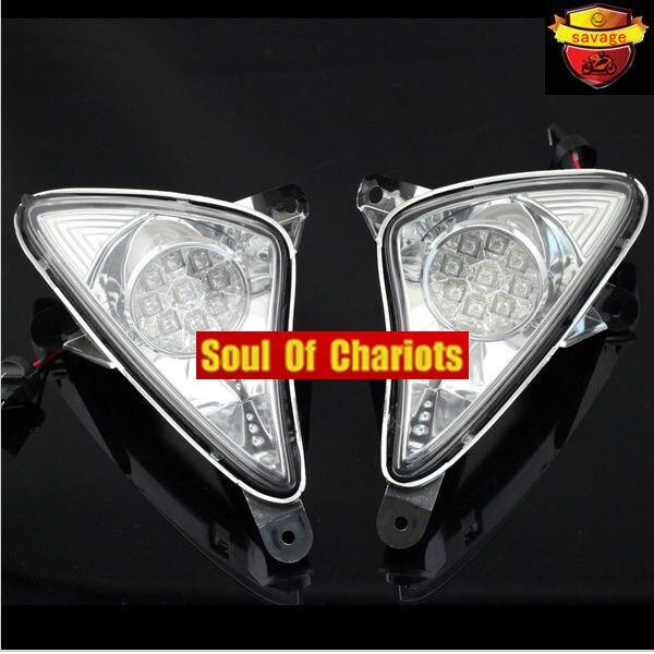 Para yamaha tmax xp500 t-max 2001-2007 accesorios de la motocicleta led frontal