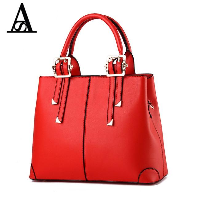 Sac à main de mode dame Messenger Bag Sac à bandoulière motif crocodile, wine red