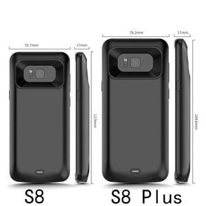 Image 4 - 耐衝撃のため銀河S9 S8 プラス注 9 外部ポータブル充電器充電ケース