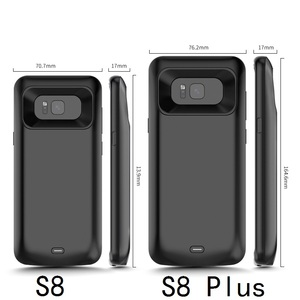 Image 4 - Schokbestendig battery charger case Voor Samsung Galaxy S9 S8 Plus Note 9 Externe Draagbare oplader Cover power bank Opladen case
