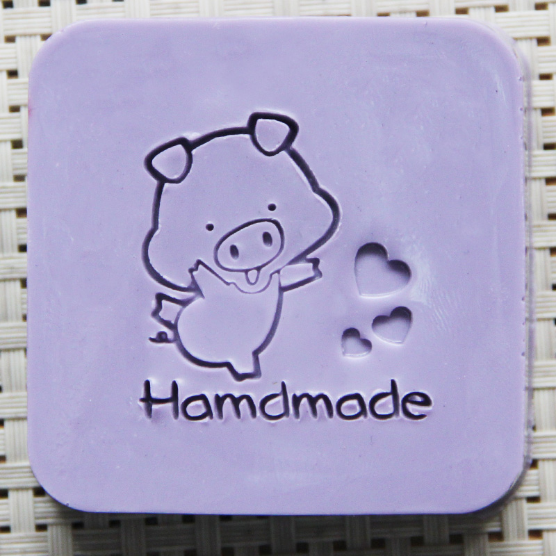 2016 free shipping natural handmade acrylic soap seal stamp mold chapter mini diy PIG patterns organic glass 4X4cm 0187 2016 free shipping natural handmade acrylic soap seal stamp mold chapter mini diy pregnant constellation organic glass 4x4cm0024
