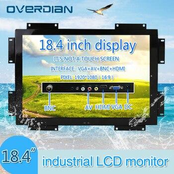"18.4""VGA/HDMI/BNC/AV Input Interface Widescreen Screen Industrial Display 16:9 Non- Touch Screen Industrial/Computer Monitor"