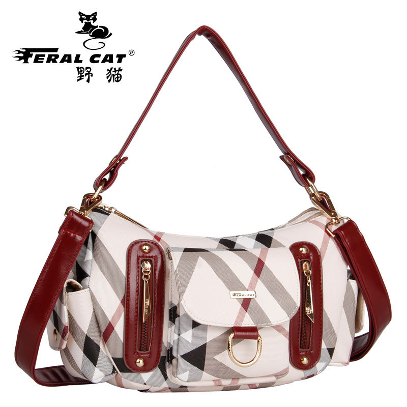 FERAL CAT Crossbody Bags for Women Handbag  Pvc Sac A Main Hobos Paule Travel Bag Casual Carteras Mujer De Hombro Shoulder Bag paule ka водолазки