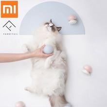 Xiaomi Mijia пушистый хвост Медузы Массажер для домашних животных расческа отрицательные ионные антистатические для кошачьих волос Чистые домашних животных Уход Массажер расческа