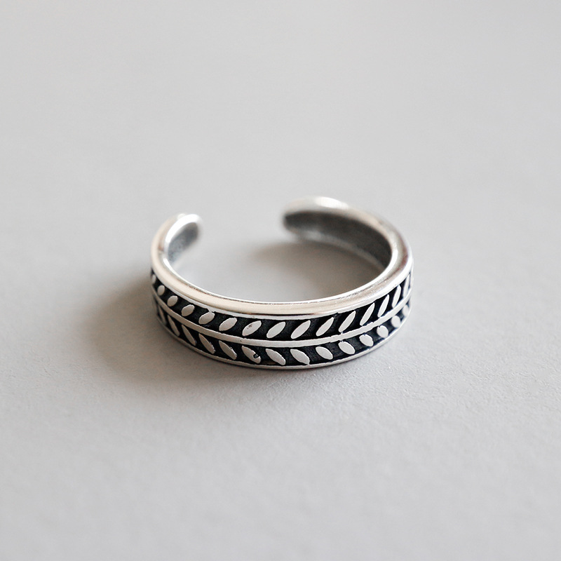 Genuine Hallmarked 925 Sterling Silver Adjustable Wide Plain Multi Band Toe Ring