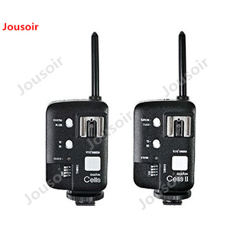 2x Godox Cells II 1/8000s Wireless TransceiverTriggerKit for Canon EOS Camera, Speedlite and Studio Flashes V850 V860 AD360 CD50