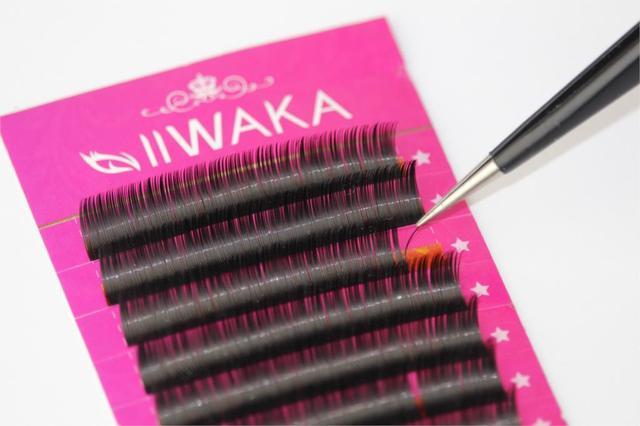 1 Case All Size JBCD eyelash extensions mink black fake false eyelashes curl 5