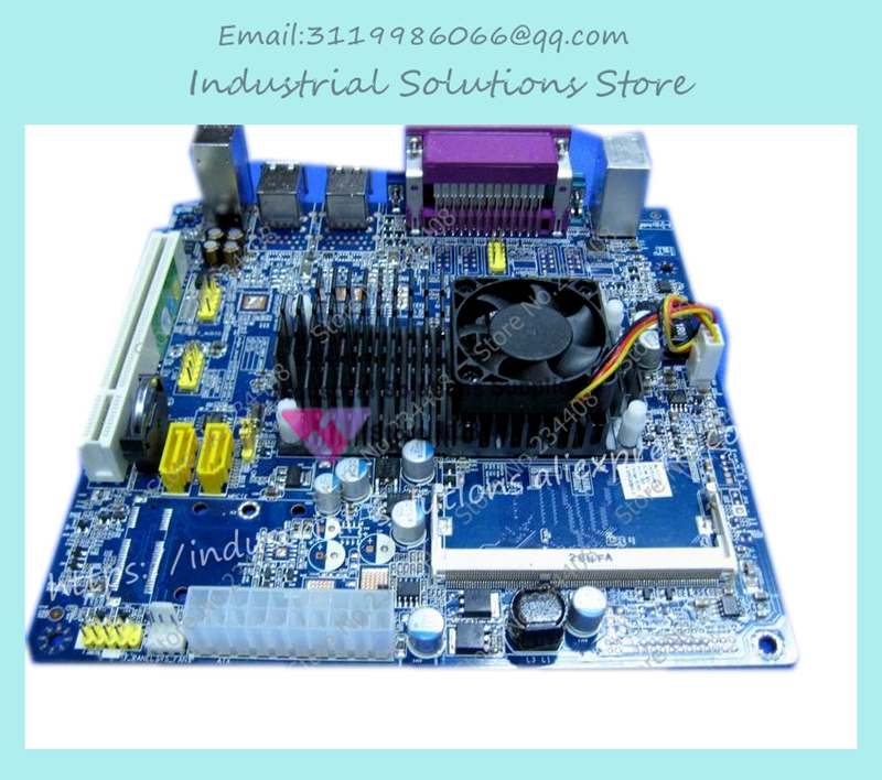 D425 Xiangsheng D425 Bt Pos Htpc Itx Training E3001 Q6 D525 D2550 industrial motherboard 100% tested perfect quality atom d525 itx d525 2com industrial motherboard bt pos training e3001 e2011 100% tested perfect quality