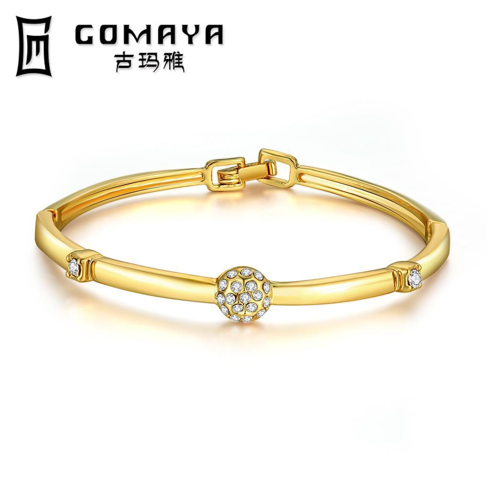 Brand New Carter Love Bracelet Bangles Crystal Bracelets gold color Love Bangle Jewelry For Women Pulseiras Z002-A