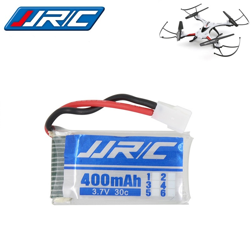 цены JJRC Original Battery JJRC H31 Spare Parts 3.7V 400mah 30C Battery H31 Lipo battery 3.7 v 400ma For JJRC H31 with XH2.54 plug