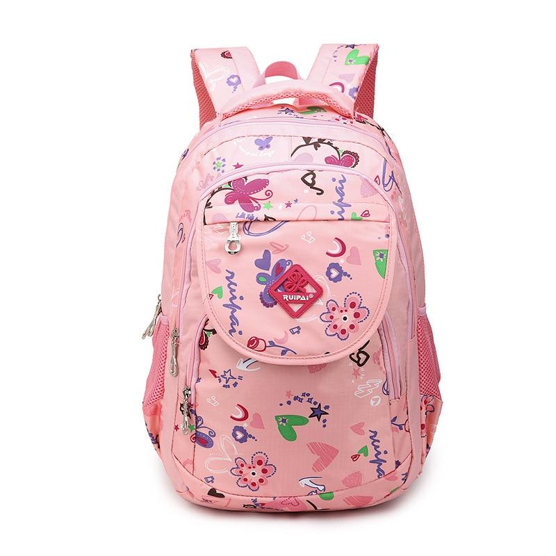 003f6fdc4c4c Дети детские школа книга сумка рюкзак, ортопедические ранец для девочек,  студент, элементарные дошкольного рюкзак непромокаемые мешки купить на