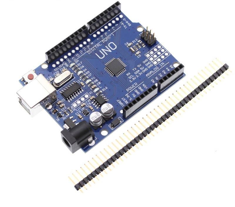 1PCS UNO R3 UNO Board UNO R3 CH340G+MEGA328P Chip 16Mhz For Arduino UNO R3 Development Board USB CABLE