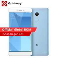Original Xiaomi Redmi Note 4X 4GB RAM 64GB ROM Mobile Phone Snapdragon 625 Octa Core 5